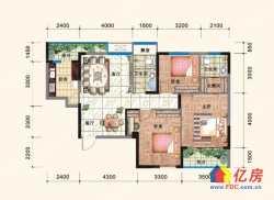 急售 古田轻轨旁 赛达国际 3室2厅2卫  114.23㎡毛坯房低价出售202万  看房方便
