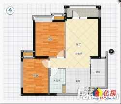 汉阳区 陶家岭 万科汉阳国际 2室2厅1卫 82.13㎡