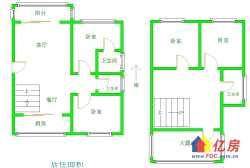 百步雅庭  平层复式  有40平大露台 4房3厅  养花养鸟都方便  一家四代同堂住的才舒服