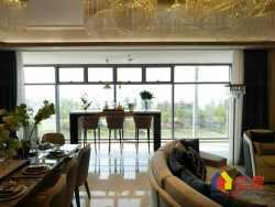 武汉江山,一线豪装江景房,270度全景落地窗,瞰江揽城境自宽