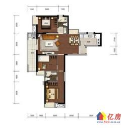 汉阳墨水湖边  1872大三房  学区房 挂角边户 采光楼层都是极好的