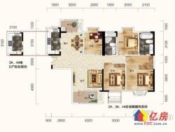 汉阳区 墨水湖 招商公园1872 4室2厅2卫  144㎡