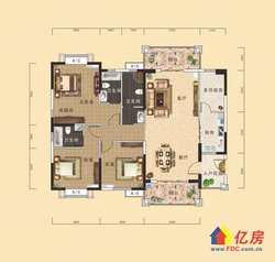 汉阳区 墨水湖 南国明珠一期 3室2厅2卫