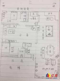 后湖 香利国庭 3室2厅2卫 实用超200㎡ 送超大露台