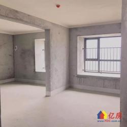 高品质上海公馆毛坯四房南北通透前后双阳台带车位