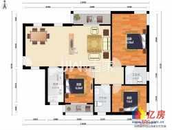 光谷广场 健龙尚谷杰座 南北通透毛坯3房 好地段好价格 急售