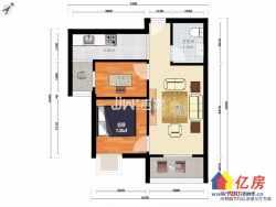 藏龙岛保利清能西海岸 婚房精装两居室 楼层好  有钥匙随时看