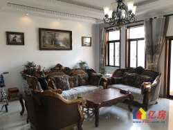 一线湖景别墅,精装修,老证满5年,送全房实木家具和家电。