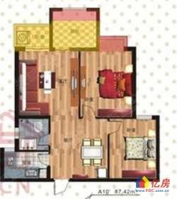 江岸区 台北香港路 西马名仕二期 3室2厅1卫 94㎡