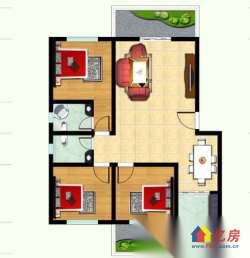 6号线旁幸源雅城 精装三房 豪华装修 两证满二年 即买即住
