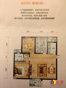 东湖高新区 光谷东 桃花源 3室2厅1卫 99㎡新房出售