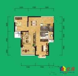 东湖高新区 民族大道 津发小区 2室2厅1卫  95㎡