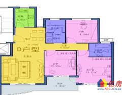 华大家园B区大三房诚售,两证无税,业主急售,看房方便