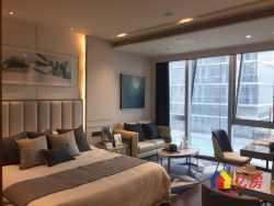绿地铂瑞公馆 一体化布局,客,卧,厨,卫功能俱全,全明设计