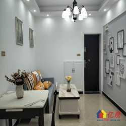 竹叶新村,中间楼层精装修的二室一厅,全明户型,厅大房正,直住