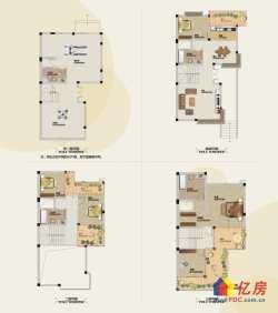 保利心语 双拼别墅  已经扩建到室内500平 超大空间 转卖