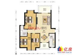东西湖区 金银湖 万科四季花城 3室2厅1卫  109㎡ 低密度住宅  环境好 后期费用低