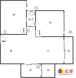 华侨城三期▆ 学区房 朝南小户▆ 采光非常好 ▆有钥匙