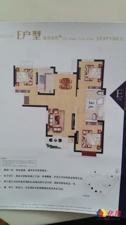 汉阳区 四新 光明上海府邸 3室2厅2卫 112.41㎡