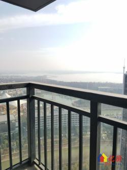纯水岸东湖三期标准南北通透户型小三房,高层瞰湖,视野开阔