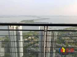 新上华侨城一期前排高层湖景三居室毛坯,满2年带车位!