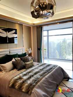 开发商直售,武汉江山,270度江景阳台,精装修住宅,两梯一户