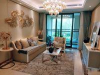 东湖金茂府,三室两厅两卫小三房,带50万豪华精装湖景房,