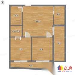汉口北 不 精装修朝南两室两厅随时来电看房