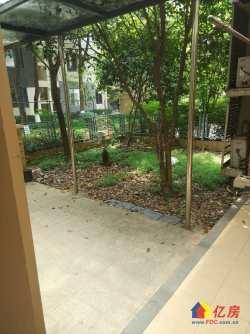 东西湖区 金银湖 万科四季花城 4室2厅2卫  ,简装一楼带超大花园,随时看房!