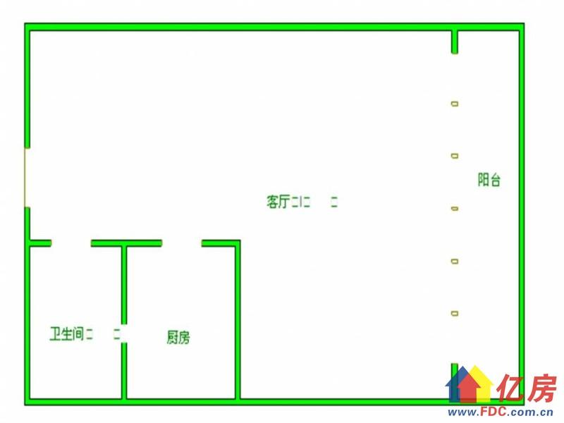 硚口区 仁寿路 金叶SOLO国际 1室1厅1卫  46㎡,武汉硚口区仁寿路硚口仁寿路二手房1室 - 亿房网
