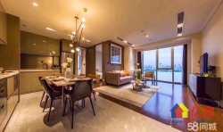 武昌区 徐家棚 绿地国际金融城三期海泊御观 3室2厅2卫  141㎡