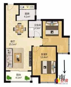 对口第三初中,超高性价比正规大2房,低于市场价