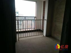 街道口珞狮路武理工旁泓悦府93平高层3室2厅2卫毛坯好房出售