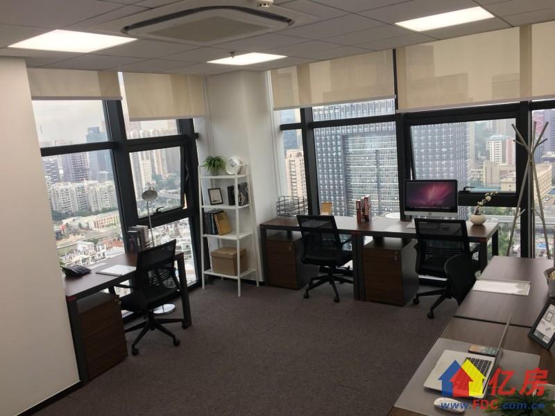 平安顶层Loft办公室,1至15人特价,可成立公司,武汉武昌区楚河汉街武昌区公正路216号平安国际金融大厦27层二手房 - 亿房网