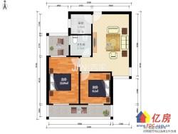 绿地国际金融城 3室2厅1卫  87㎡稀缺户型 小区中心位置 安静居家适宜
