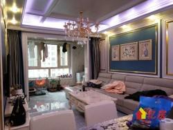 百步亭金桥汇二期 豪装89平小三室 中间楼层 南北通透 诚售