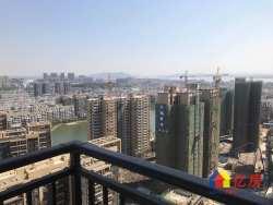 新长江香榭澜溪 一线湖景房 毛坯三房视野