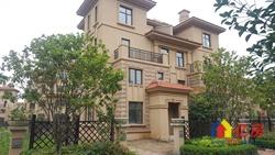 世茂龙湾四期罪便宜的一套双拼别墅,地上四层,送300平大花园