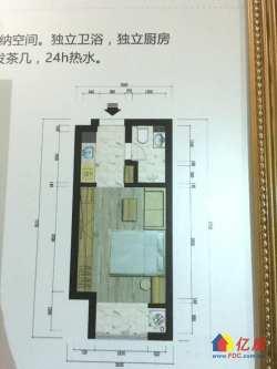 洪山区二环边现房公寓,4号线正地铁口,金地广场永旺入驻