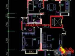 东西湖区金银湖金珠港湾2室2厅1卫100.37㎡,毛坯大两房,可改三房,性价比超高!