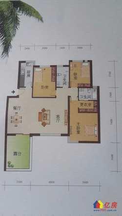 黄陂区 盘龙城 未来海岸 3室2厅2卫 123㎡