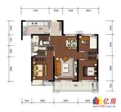 汉阳区 墨水湖 招商公园1872 3室2厅2卫  114㎡