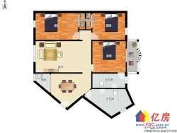 楚河汉街 沙湖公寓低总价三房 汉街双地铁口 诚心出售