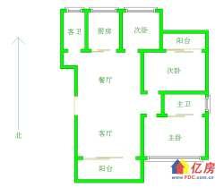 地铁口 同鑫花园 精装电梯三房 南北通透大三房 满五唯一 拎包入住