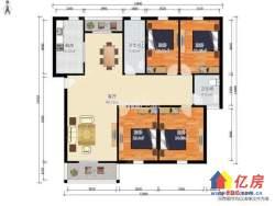 黄陂区 盘龙城 名流人和天地(一期) 4室2厅2卫 158m²