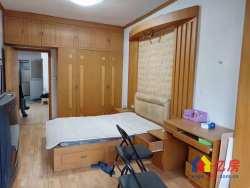 菱角湖地铁口,长江日报宿舍,一梯两户2室1厅,老证南北通透