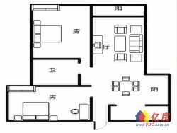 刚需首付50万 全南豪华两房 拎包入住 业主急售 小区中央!
