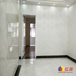 竹叶新村,2楼的3室1厅精装修,南北通透,双阳台,直接入住