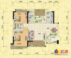 广电江湾新城 临江精装两房 家具家电全送 170万售随时看房