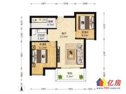 3号线 后湖大道 汉口城市广场 毛坯两房 好楼层 看房有钥匙